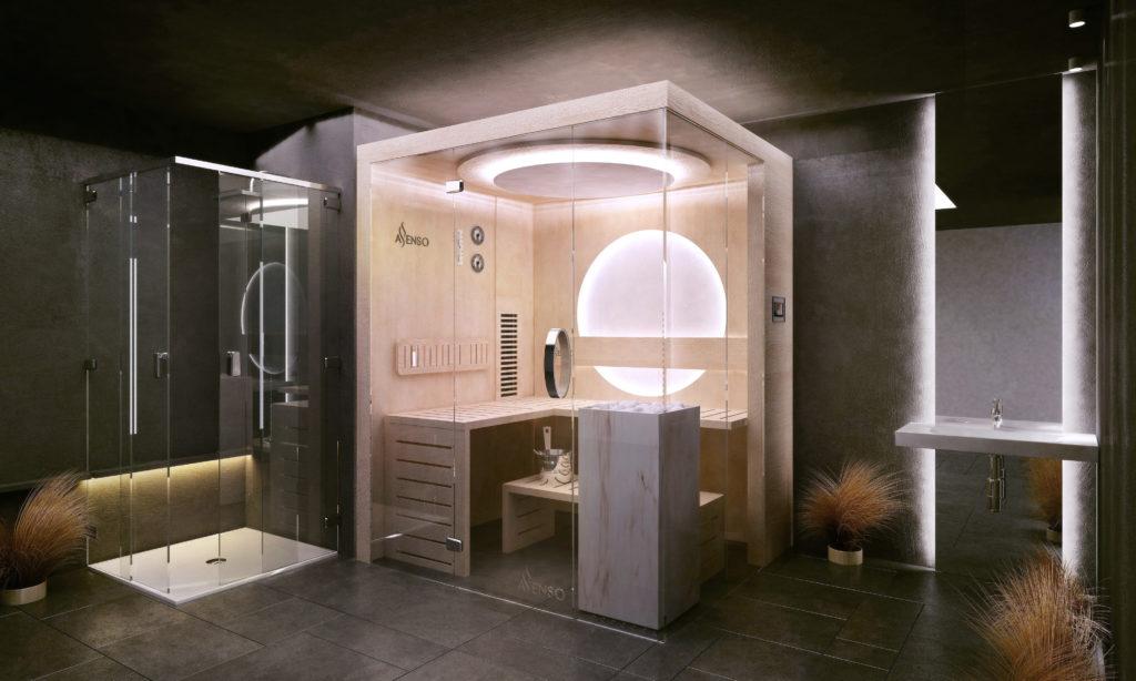 Glamour marble sauny