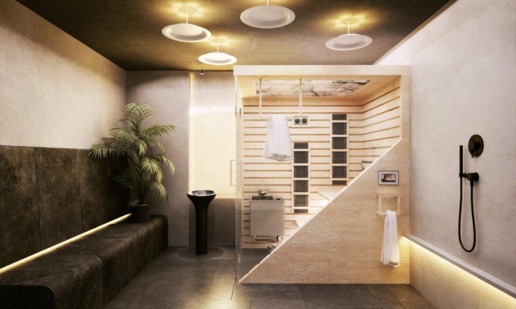 sauna domowa scandi ljus
