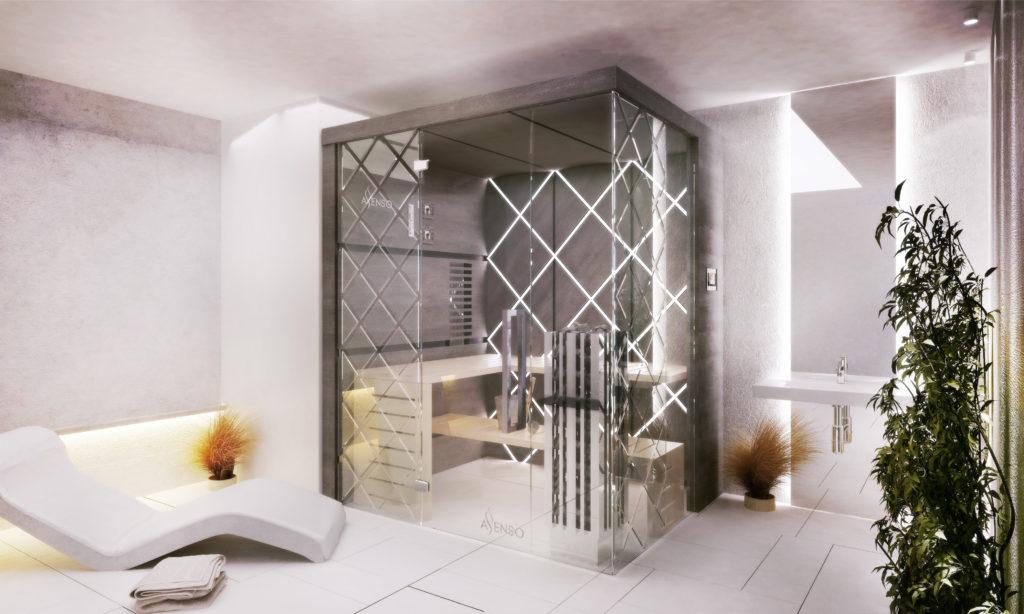 Glamour diamond sauny