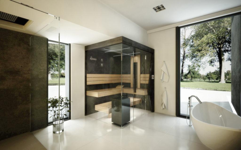 urban black sauna