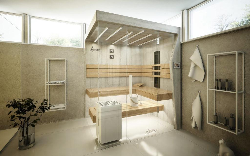 urban white sauny