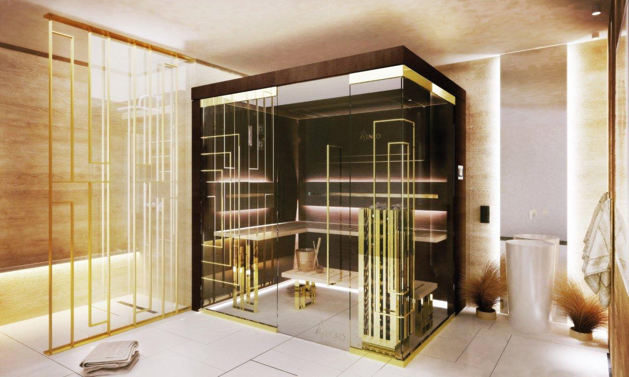 Domowa sauna Glamour Gold